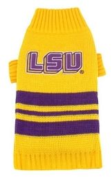 DoggieNation-College - LSU Tigers Dog Sweater - Small