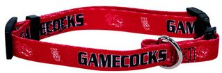 DoggieNation-College - South Carolina Gamecocks Dog Collar - Large