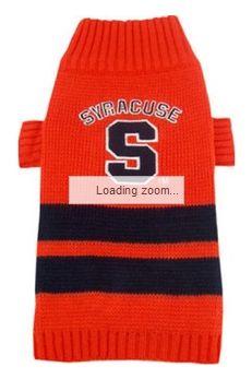 DoggieNation-College - Syracuse Dog Sweater - Large