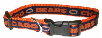 DoggieNation-NFL - Chicago Bears Dog Collar - Alternate  - Small