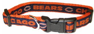 DoggieNation-NFL - Chicago Bears Dog Collar - Alternate - Large