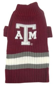 DoggieNation-College - Texas A&M Dog Sweater - Large