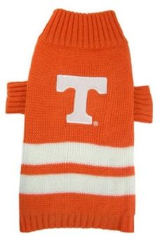 DoggieNation-College - Tennessee Volunteers Dog Sweater - Xtra Small