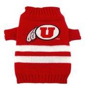 DoggieNation-College - Utah Dog Sweater - Large