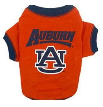 DoggieNation-College - Auburn Dog Tee Shirt - Xtra Small