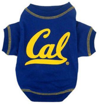 DoggieNation-College - California Berkeley Dog Tee Shirt - Small