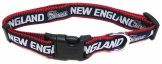 DoggieNation-NFL - New England Patriots Dog Collar - Alternate - Medium