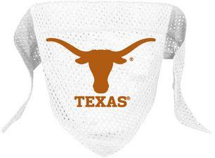 DoggieNation-College - Texas Longhorns Mesh Dog Bandana - Large