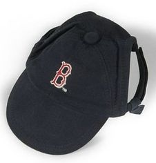 DoggieNation-MLB - Boston Red Sox Dog Cap - Small