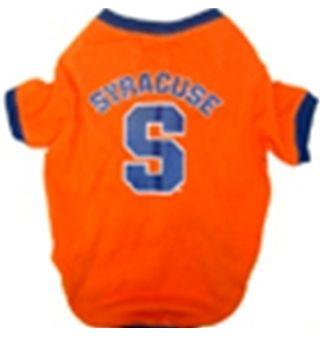 DoggieNation-College - Syracuse Dog Tee Shirt - Large