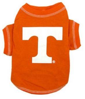 DoggieNation-College - Tennessee Volunteers Dog Tee Shirt - Small