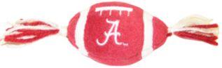 DoggieNation-College - Alabama Plush Football Dog Toy - One