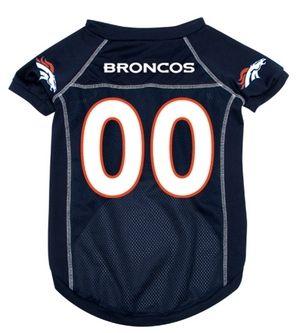 DoggieNation-NFL - Denver Broncos Dog Jersey - Xtra Large
