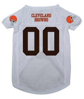 DoggieNation-NFL - Cleveland Browns Dog Jersey - Small