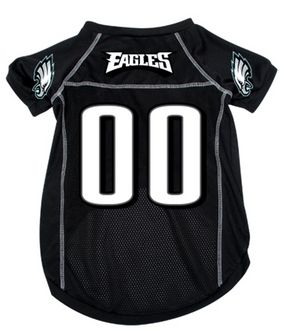 DoggieNation-NFL - Philadelphia Eagles Dog Jersey - Large