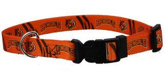 DoggieNation-NFL - Cincinnati Bengals Dog Collar - Small