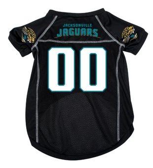DoggieNation-NFL - Jacksonville Jaguars Dog Jersey - Xtra Large