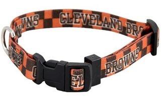 DoggieNation-NFL - Cleveland Browns Dog Collar - Medium