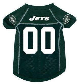 DoggieNation-NFL - New York Jets Dog Jersey - Medium
