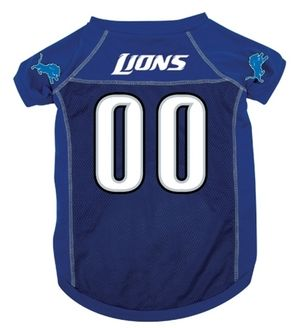 DoggieNation-NFL - Detroit Lions Dog Jersey - Large