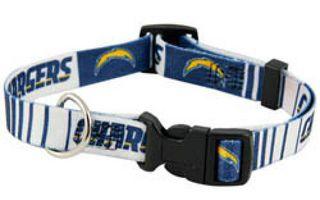DoggieNation-NFL - San Diego Chargers Dog Collar - Medium