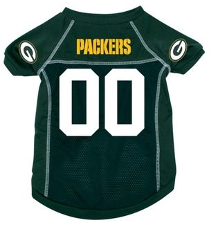 DoggieNation-NFL - Green Bay Packers Dog Jersey - Large