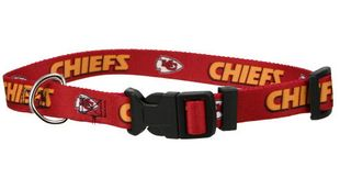 DoggieNation-NFL - Kansas City Chiefs Dog Collar - Medium