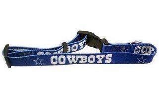 DoggieNation-NFL - Dallas Cowboys Dog Collar - Small