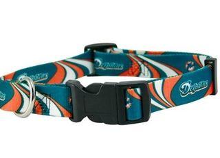 DoggieNation-NFL - Miami Dolphins Dog Collar - Medium