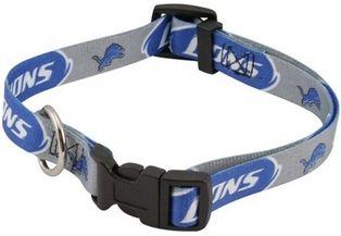 DoggieNation-NFL - Detroit Lions Dog Collar - Medium