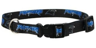 DoggieNation-NFL - Carolina Panthers Dog Collar - Small