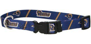 DoggieNation-NFL - St. Louis Rams Dog Collar - Large