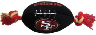 DoggieNation-NFL - San Francisco 49ers Plush Dog Toy - One-Size