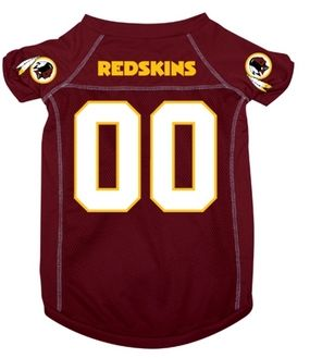 DoggieNation-NFL  - Washington Redskins Dog Jersey - Small