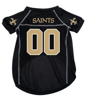 DoggieNation-NFL  - New Orleans Saints Dog Jersey - Small
