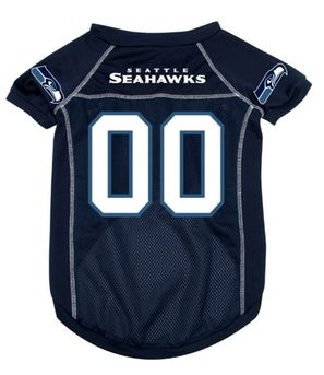 DoggieNation-NFL  - Seattle Seahawks Dog Jersey - Medium