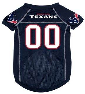 DoggieNation-NFL  - Houston Texans Dog Jersey - Small
