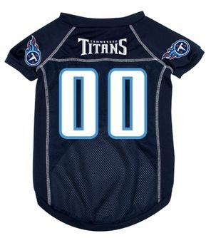 DoggieNation-NFL  - Tennessee Titans Dog Jersey - Large