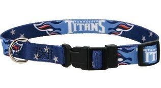 DoggieNation-NFL - Tennessee Titans Dog Collar - Small