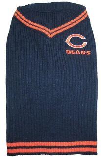 DoggieNation-NFL - Chicago Bears Dog Sweater - Large