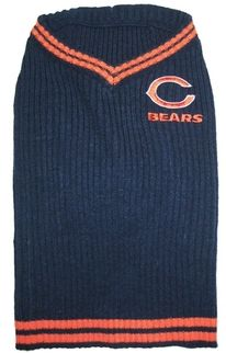 DoggieNation-NFL - Chicago Bears Dog Sweater - XtraSmall