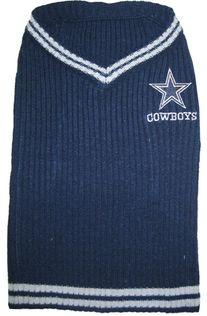 DoggieNation-NFL - Dallas Cowboys Dog Sweater - XtraSmall