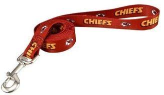 DoggieNation-NFL - Kansas City Chiefs Dog Leash - One Size