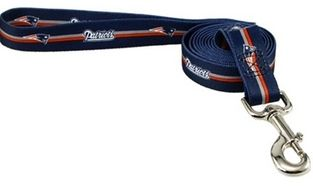 DoggieNation-NFL - New England Patriots Dog Leash - One Size