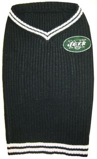 DoggieNation-NFL - New York Jets Dog Sweater - Medium