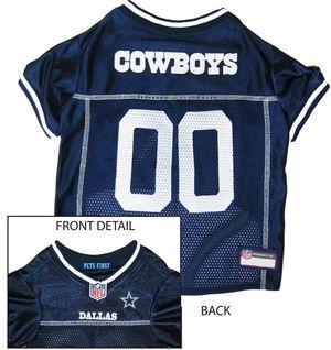 DoggieNation-NFL - Dallas Cowboys Dog Jersey - Alternate Style - Medium