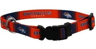 DoggieNation-NFL - Denver Broncos Dog Collar - Medium