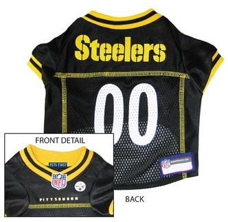 DoggieNation-NFL - Pittsburgh Steelers Dog Jersey - Alternate Style - XtraSmall