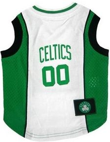 DoggieNation-NBA - Boston Celtics Dog Jersey - XtraSmall
