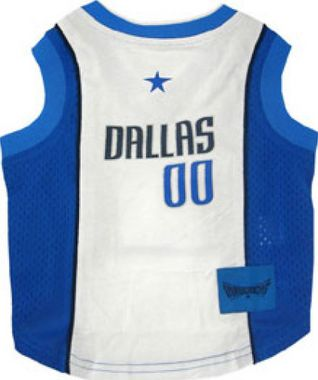 DoggieNation-NBA - Dallas Mavericks Dog Jersey - Small